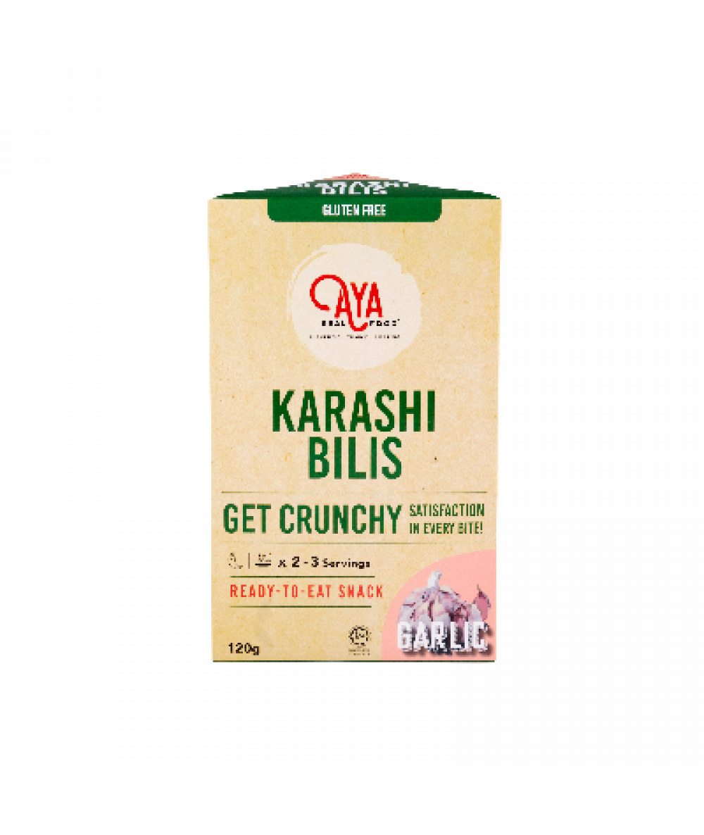 Aya Real Food Karashi Bilis Garlic 120g