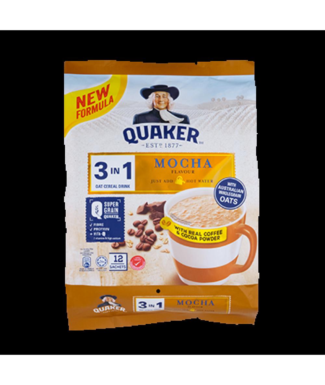 Quaker 3in1 Mocha 12s 336g