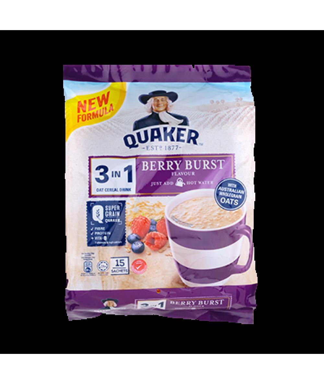 Quaker 3in1 Berry Burst 15s 428g