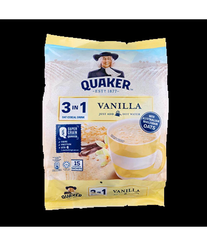 Quaker 3in1 Vanilla 15s 428g