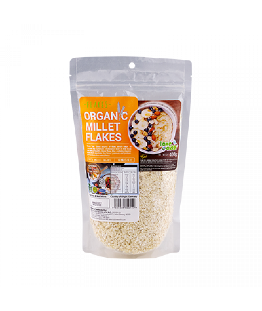 Love Earth Org Millet Flakes 400g