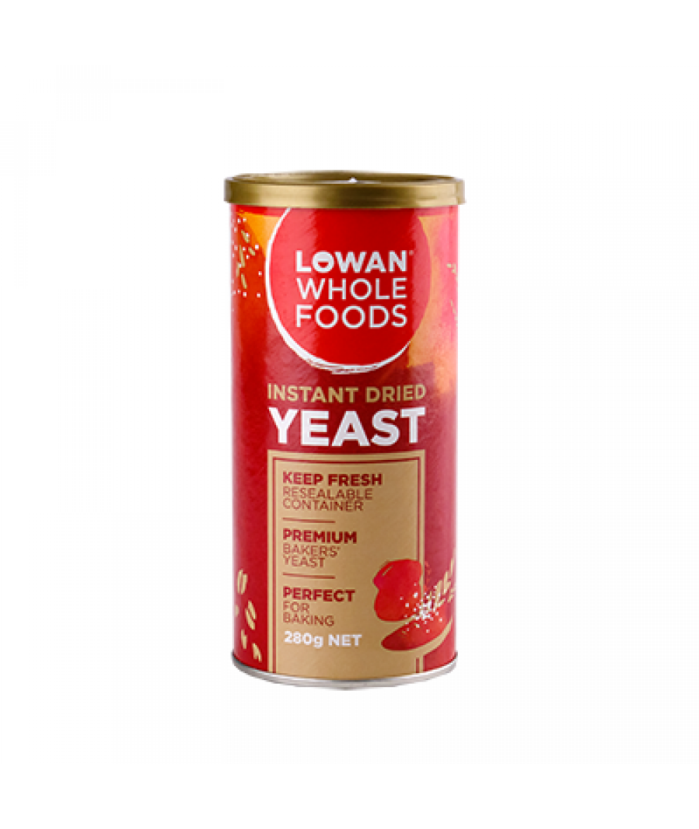 Lowan Bakers' Yeast Canister 280g