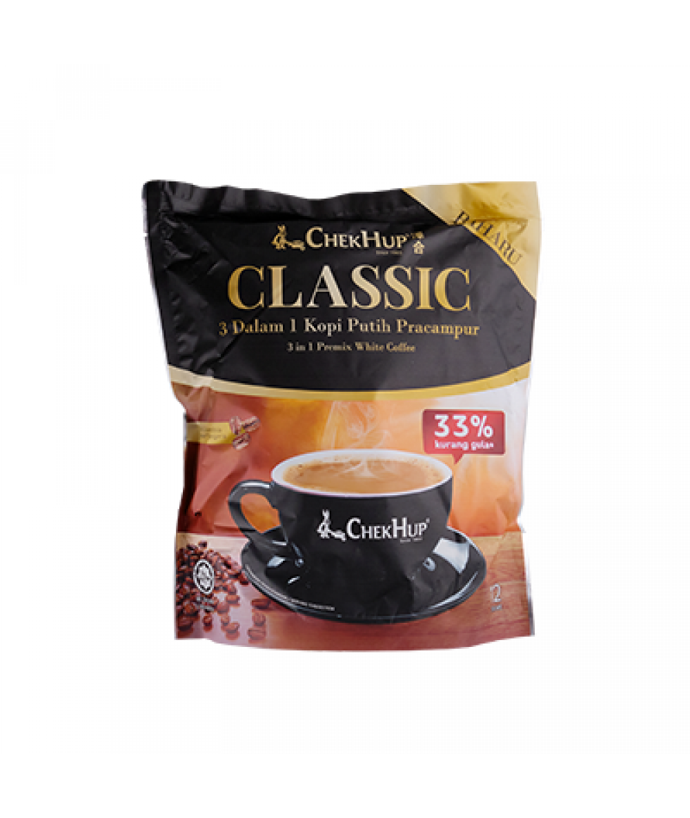 Chek Hup  3 in 1 Classic White Coffee 8bag