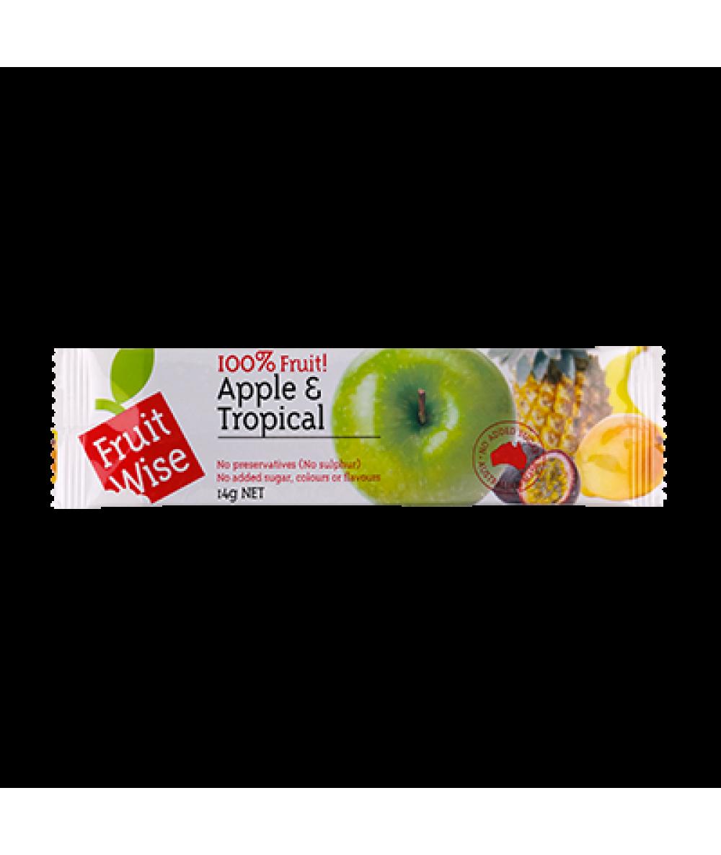 Fruit Wise Fruit Straps - Apple & Tropical 14g