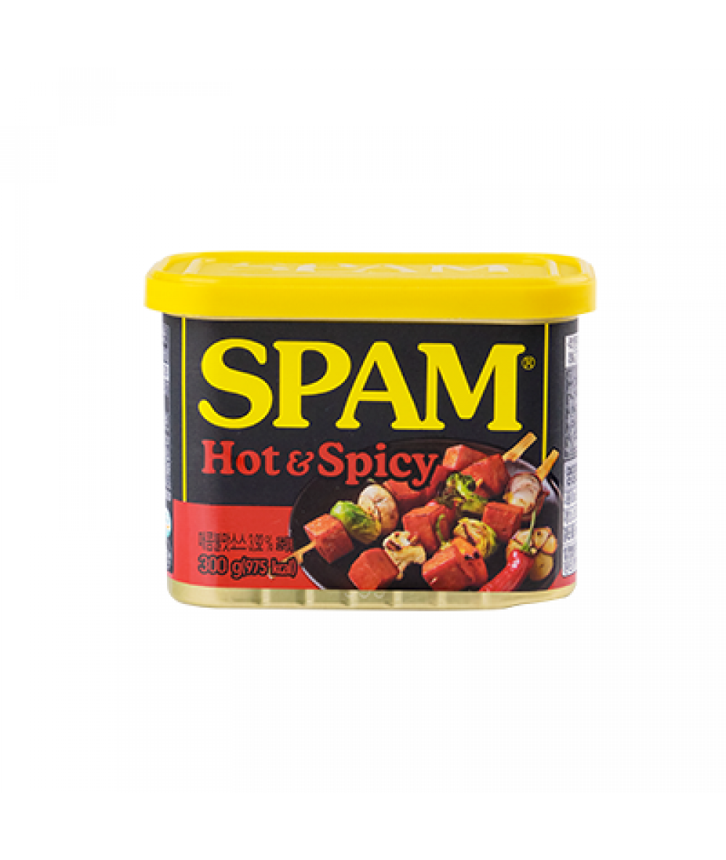 Korean Spam Luncheon Meat Hot&Spicy 300g