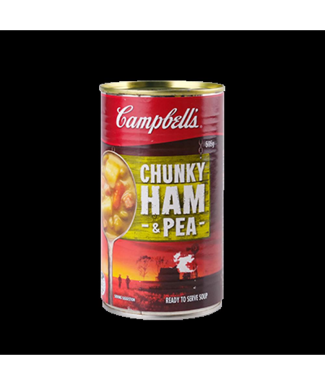 Campbells Chunky Ham & Pea 505g