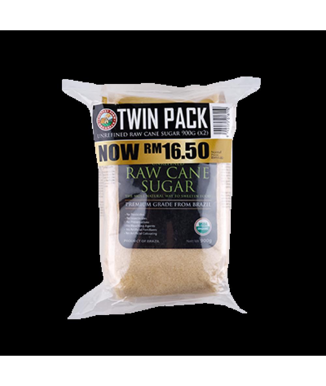 CFO Org Raw Cane Sugar 2x900g