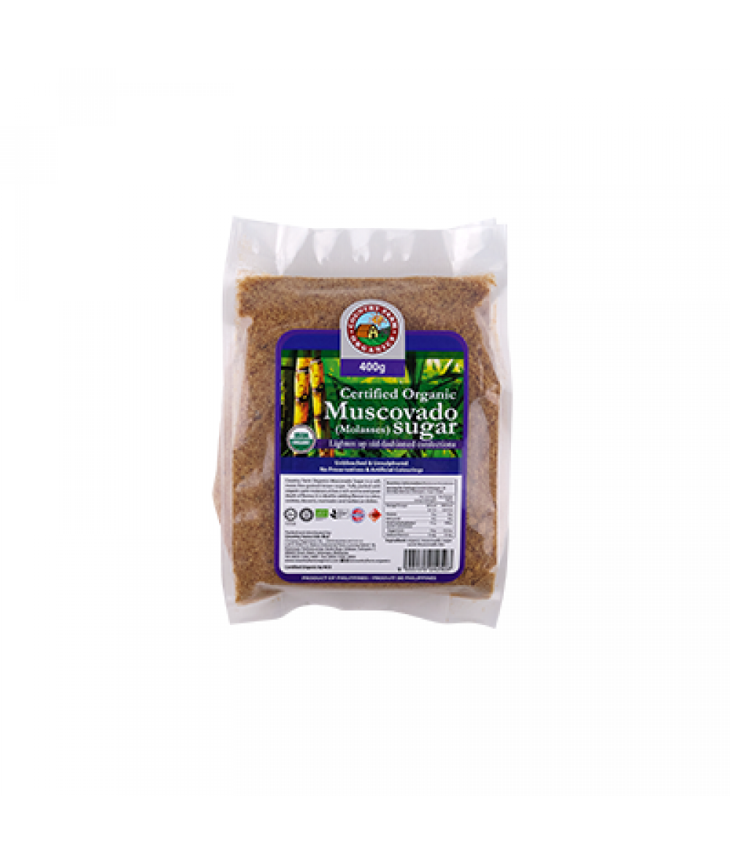CFO Organic Muscovado Sugar 400g