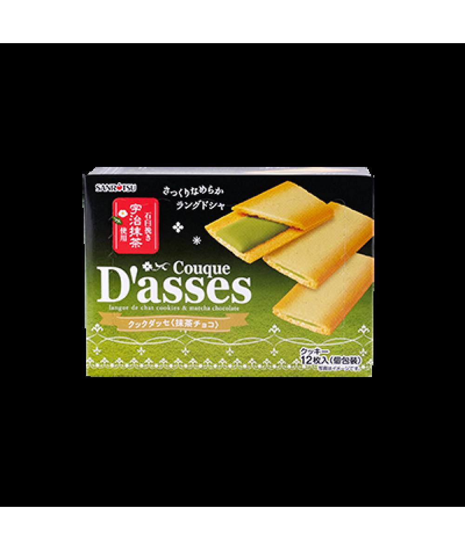 Couque D' Asses Matcha Choco 90g