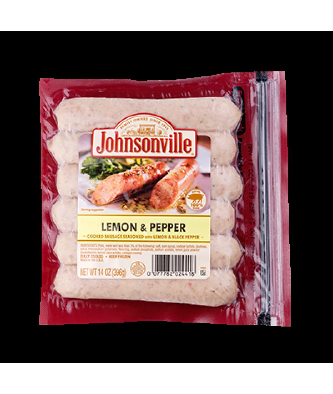 Johnsonville Lemon&Pepper Sausages 396g