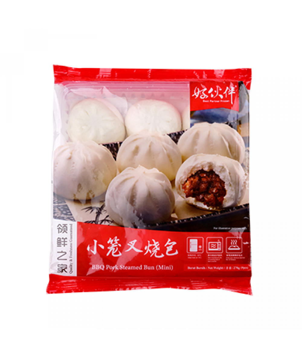 BP Mini BBQ Pork Bun 9pcs