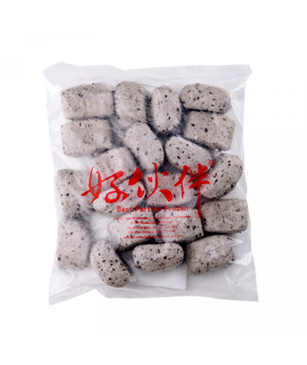 BP Black Sesame Steamed Bread 20pcs