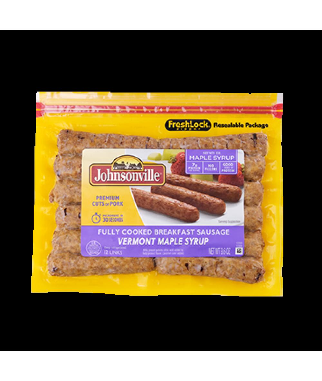 Johnsonville Maple Breakfast Sausage270g