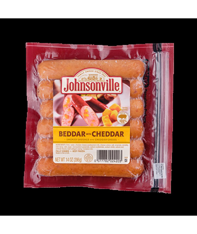 Johnsonville Beddar Cheddar Sausage 396g