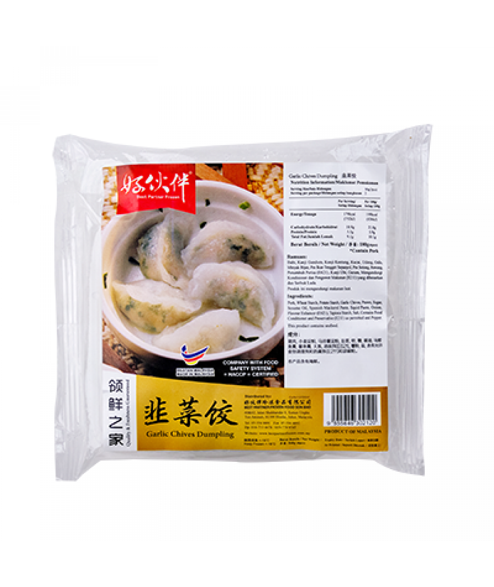 BP Garlic Chives Dumpling 180g