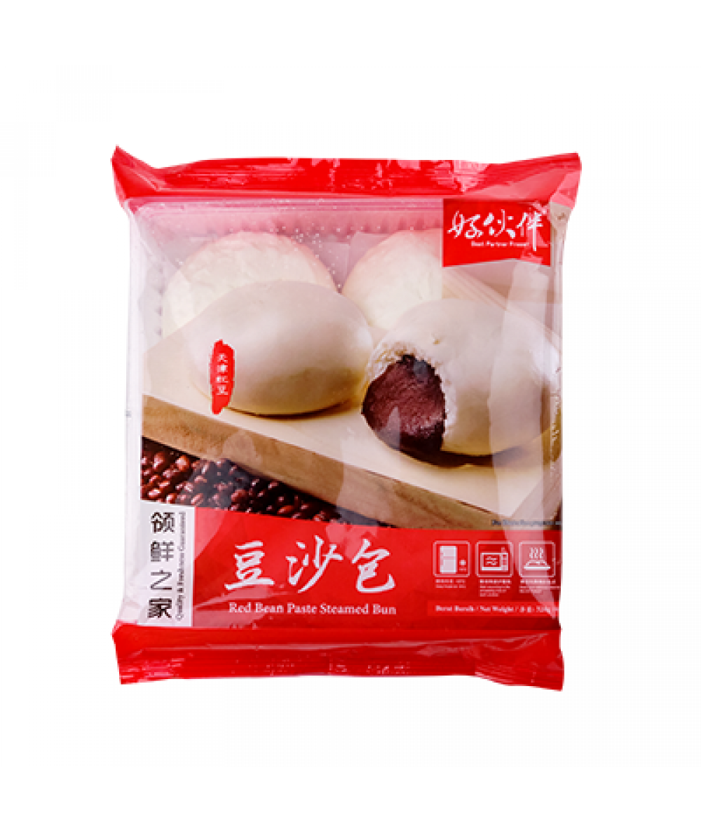 BP Red Bean Bun 4pcs