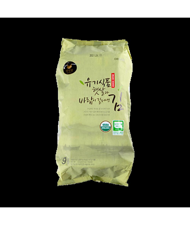 Manjun Organic Seaweed Snack  9 x 4.5g
