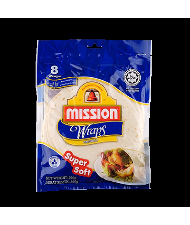 Mission Wraps Original 360g