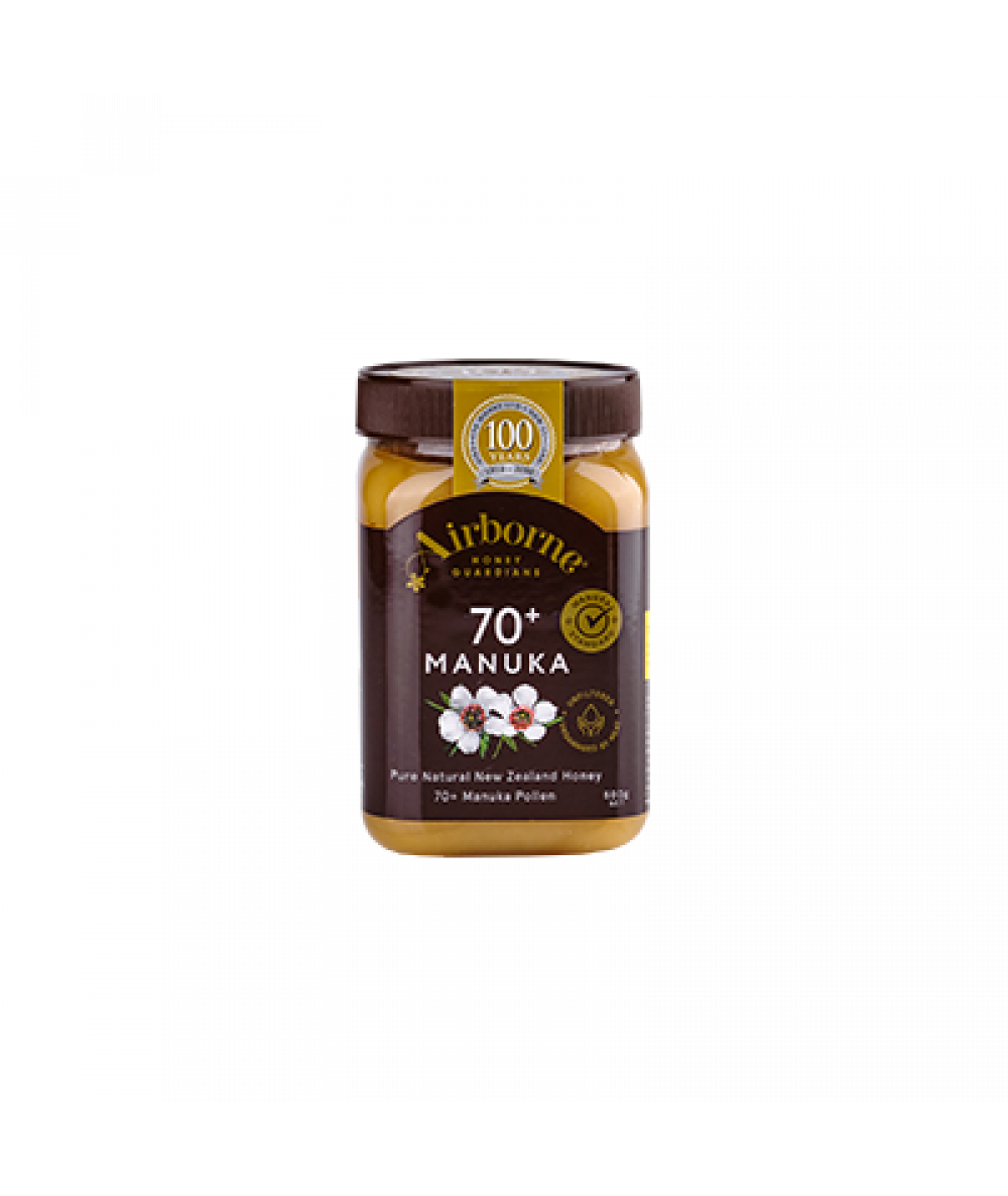 Airborne Manuka Honey 70+ 500g