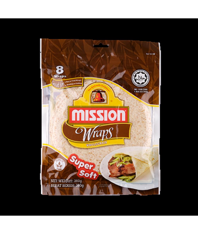Mission Wraps Wholegrain 360g