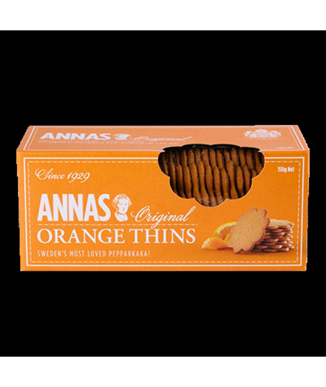 Lotus Annas Thins Orange 150g