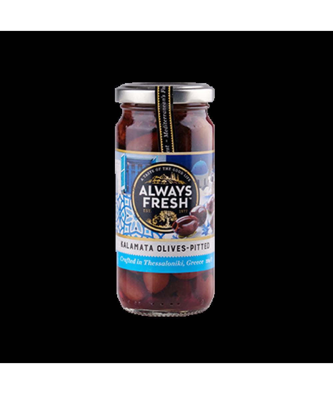 Always Fresh Olives KalaMata Pitted 220g