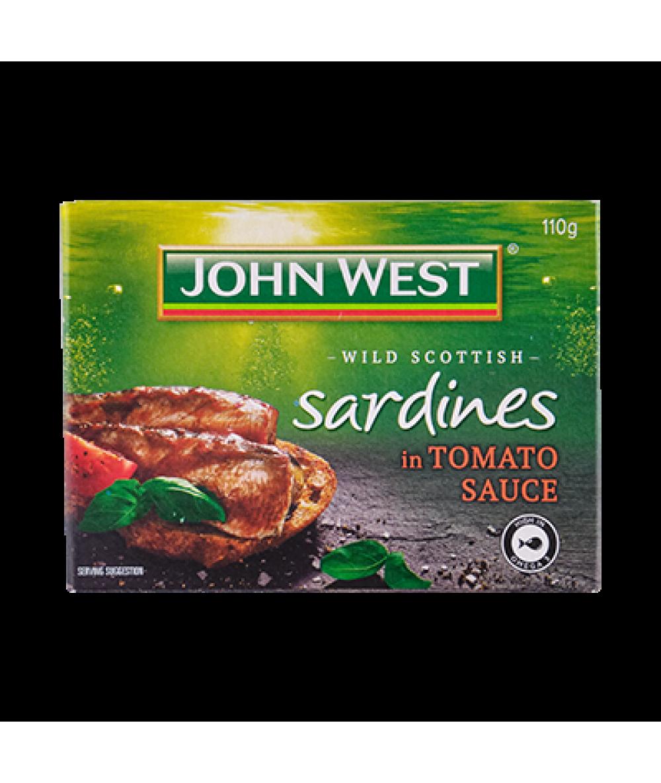 John West Sardines Tomato Sauce 110g