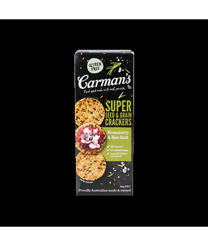 Carman's Cracker Rosemary & Seasalt 80g