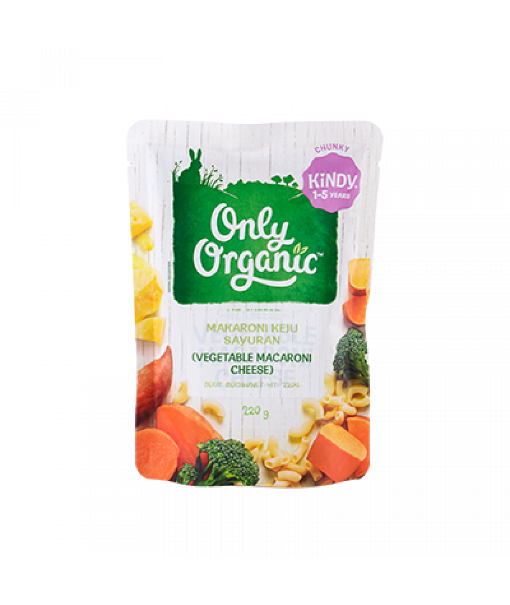 Only Organic Vegetable Macaroni & Cheese Pasta 220