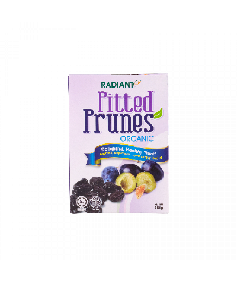Radiant Pitted Prunes,Org 250g