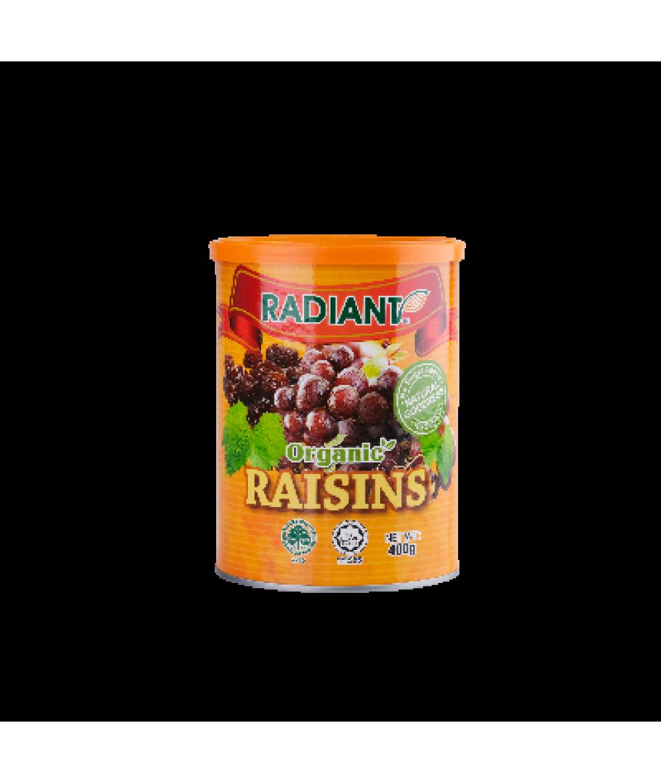 Radiant Raisins,Org.  (Tub Container) 400g