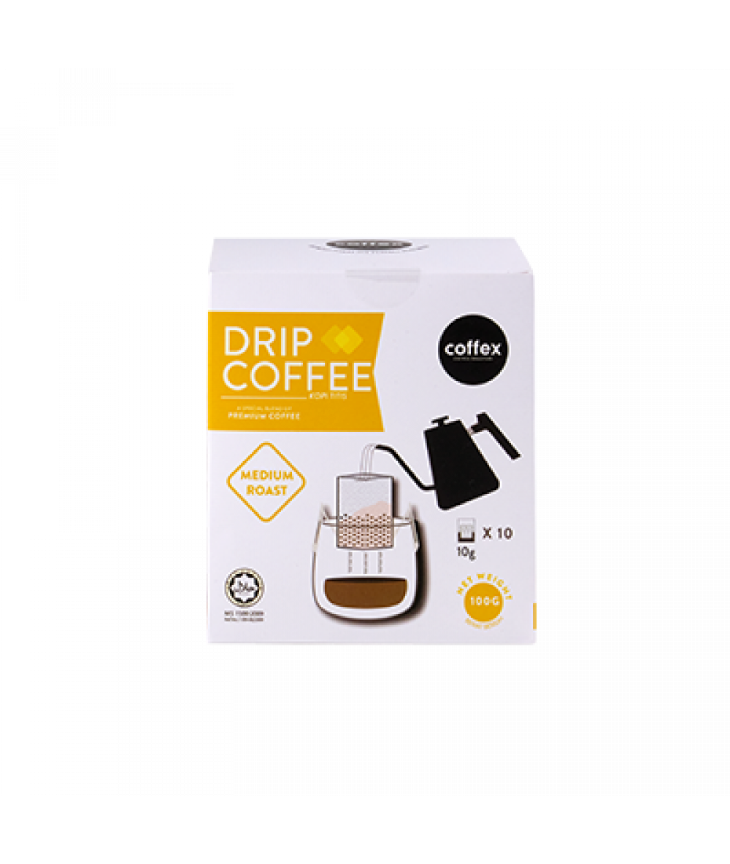 Coffex Drip Coffee Medium Roast  10s