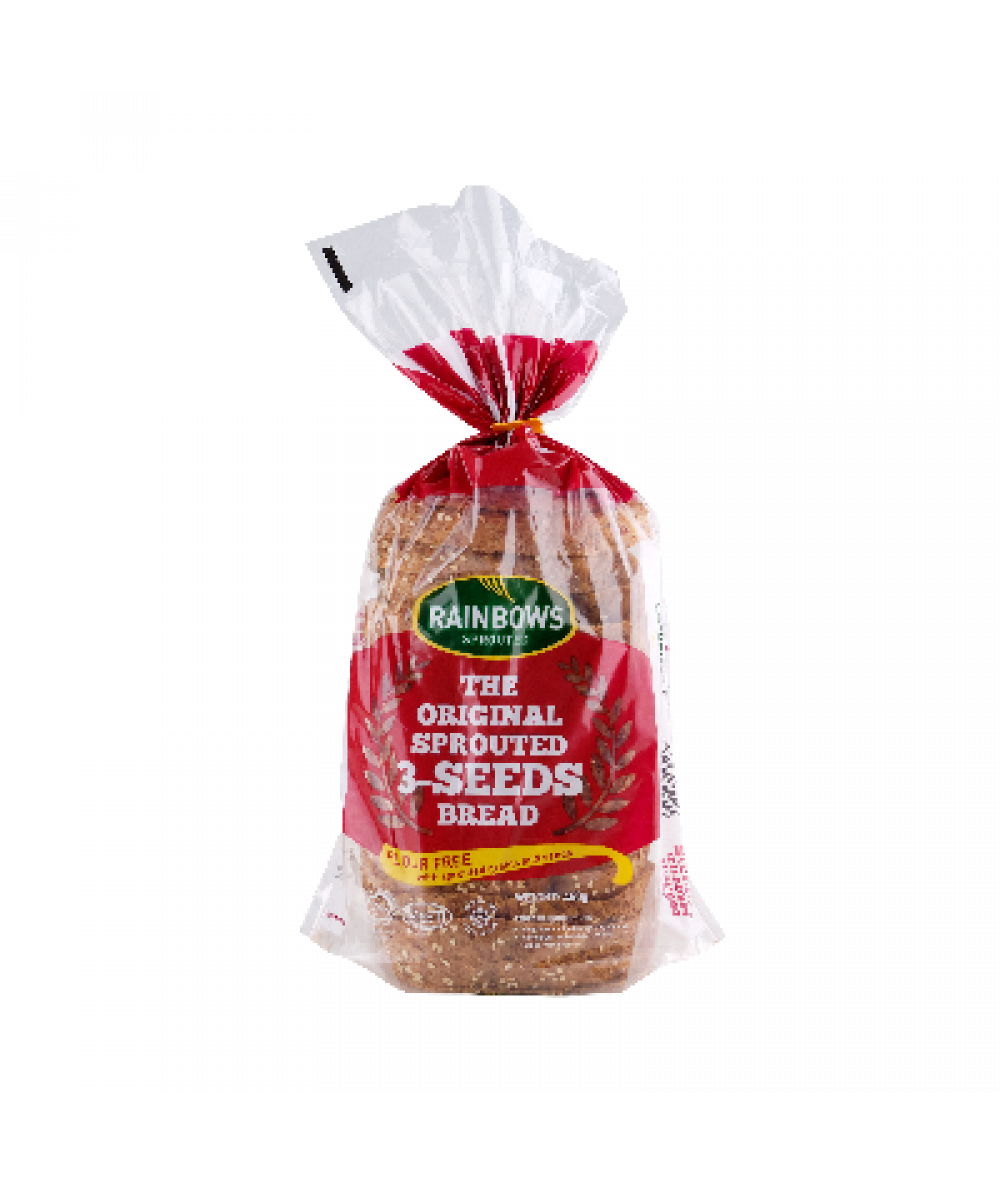 Rainbows The Original Sprouted 3 Seeds Bread 450g