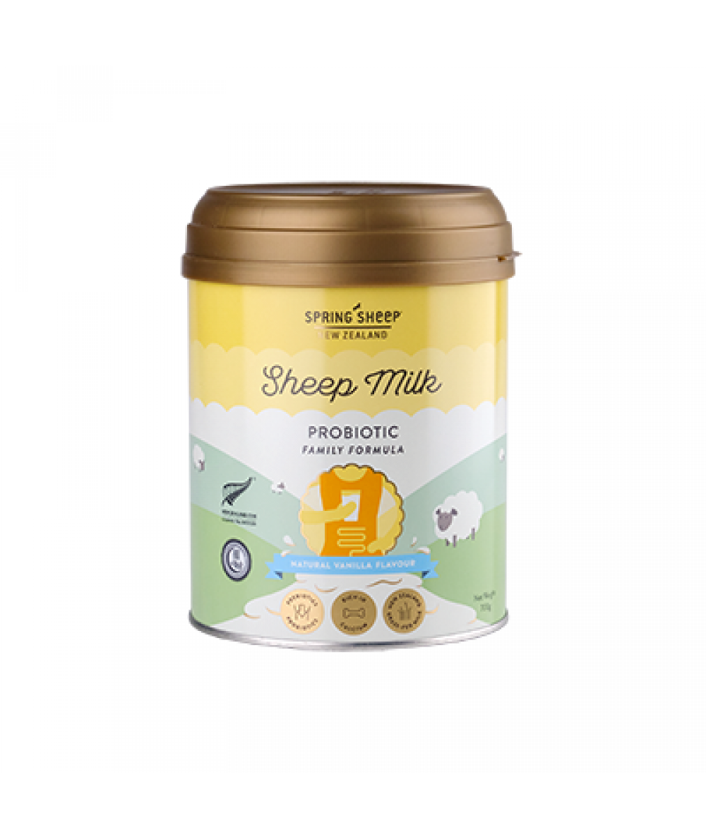 Spring Sheep Milk Probiotic Family Vanilla Flavour