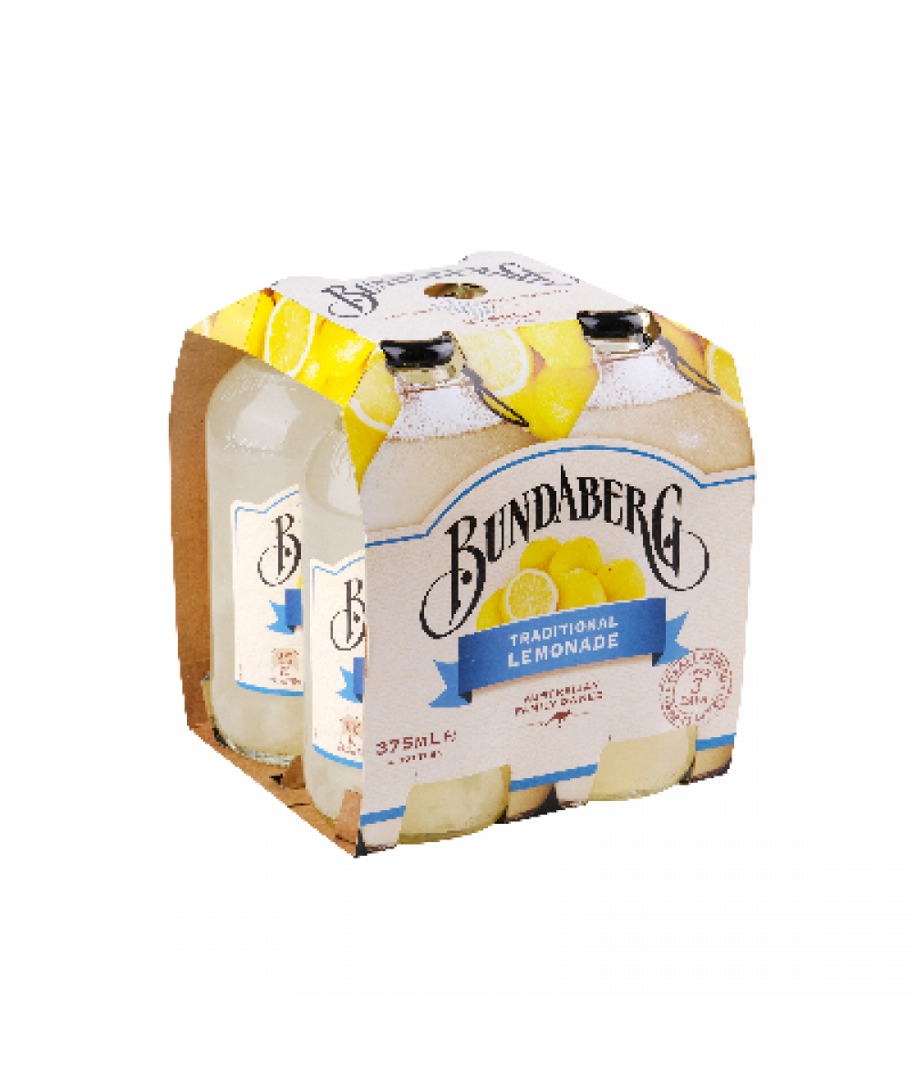 Bundaberg Lemonade 4x 375ml