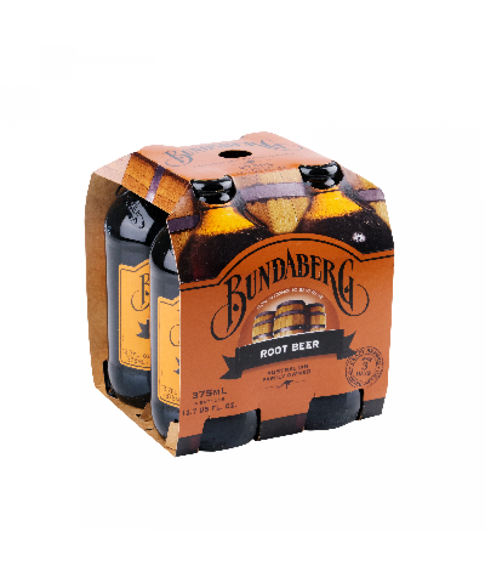 Bundaberg Root Beer 4x 375ml