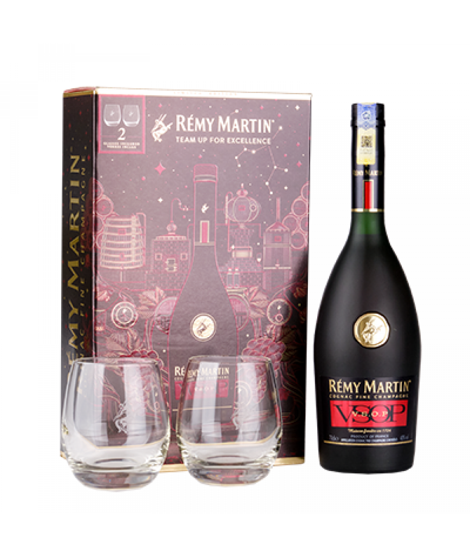 Remy Martin VSOP Gift Set 700ml