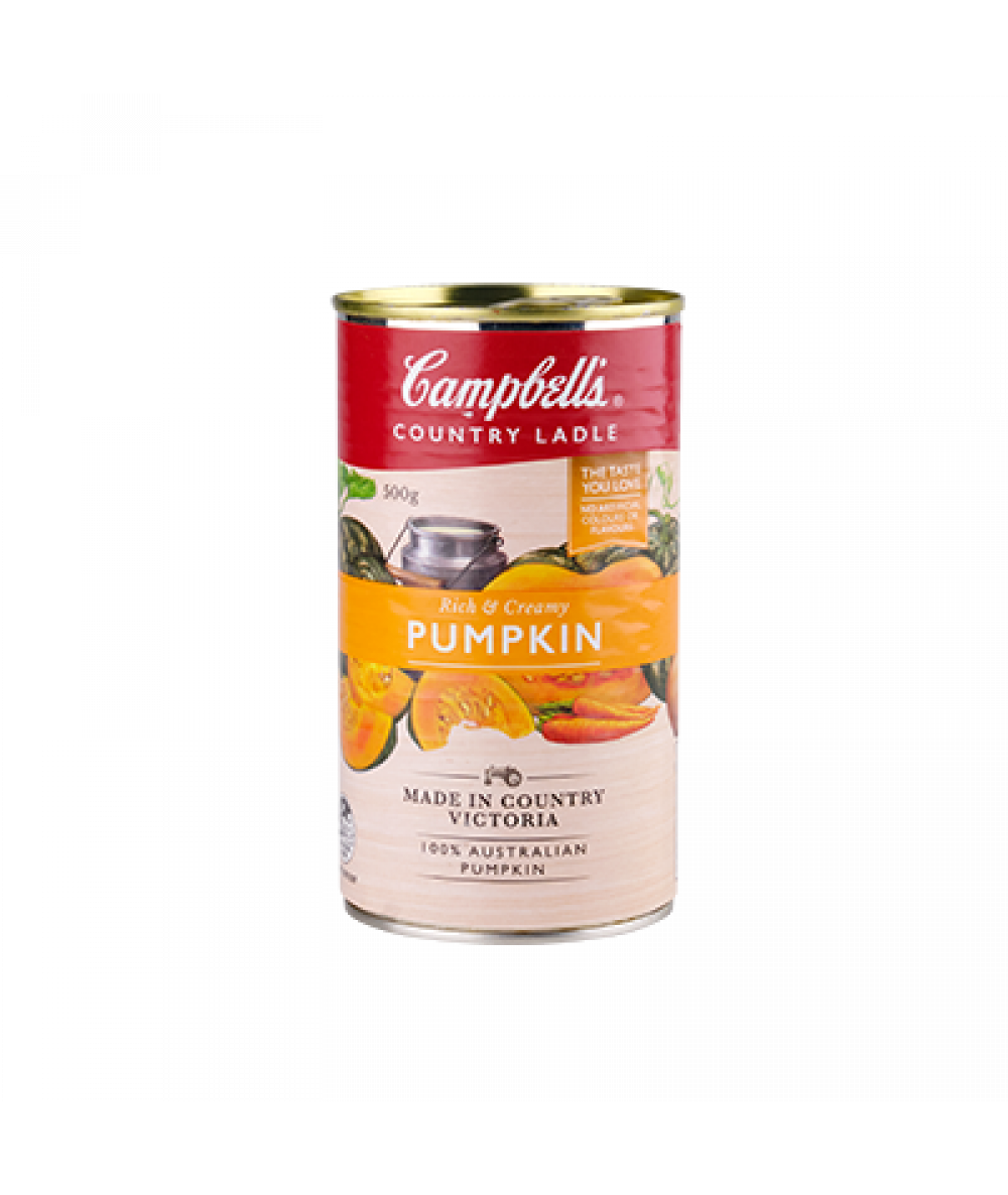 Campbells Country Ladle-Rich & Creamy Pumpkin 500g