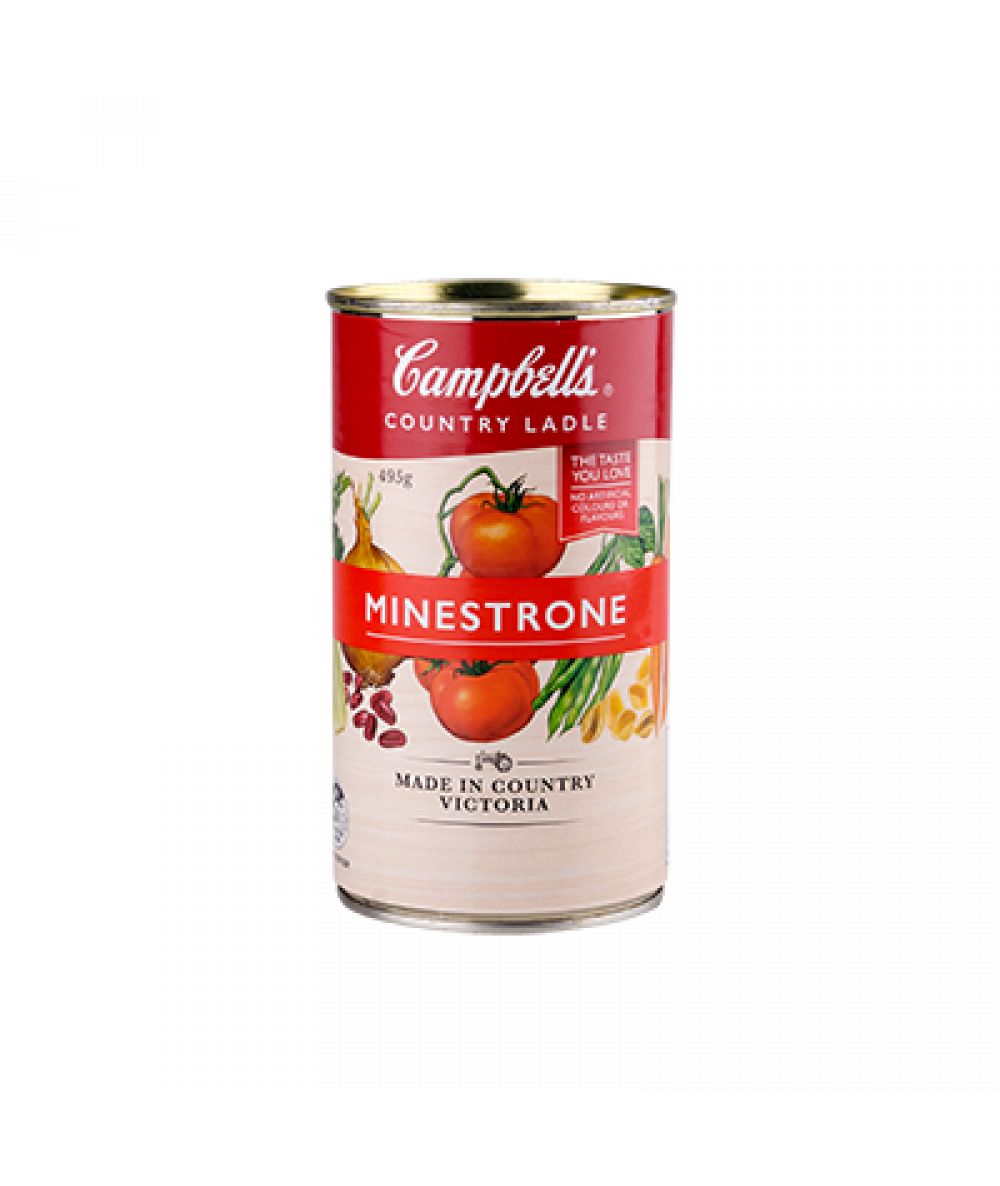 Campbells Country Ladle-Trad. Minestrone 495g