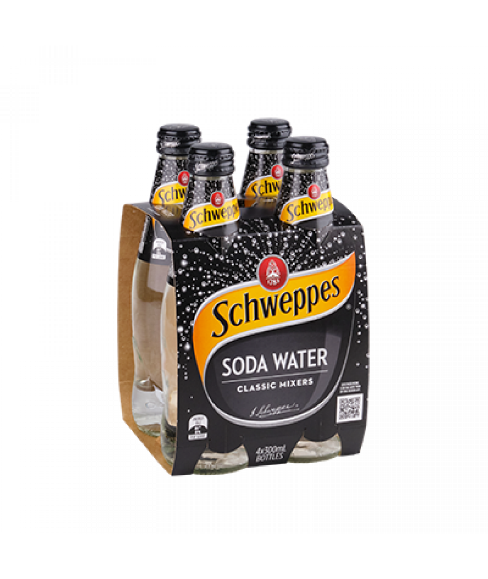 Schweppes Mixers Soda Water 300ml
