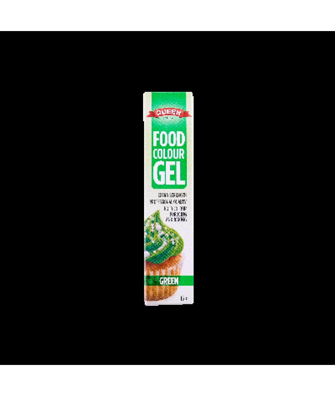 Queen Food Colour Gel Green 15g