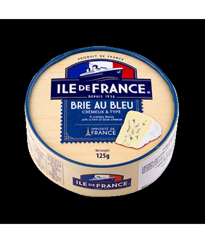 Ile De France Petit Brie Bleu 125g