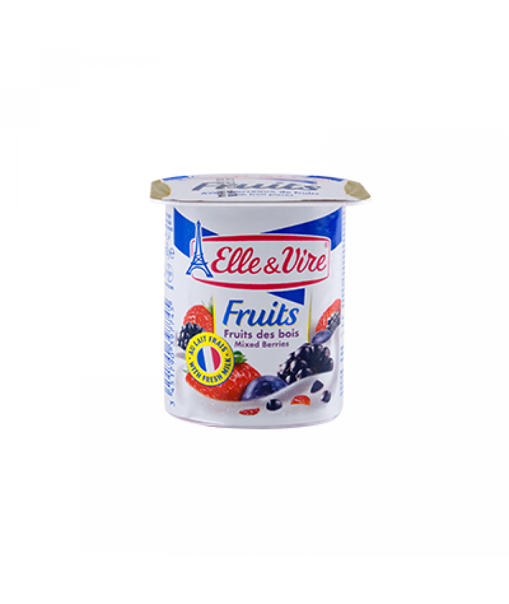 Elle & Vire Dessert Mixed Berry 125g