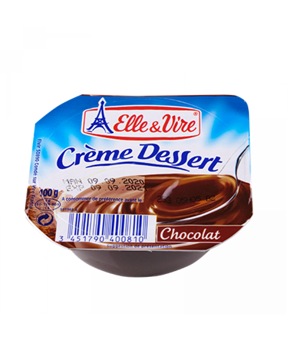 Elle & Vire Chocolate Cream Dessert 100g