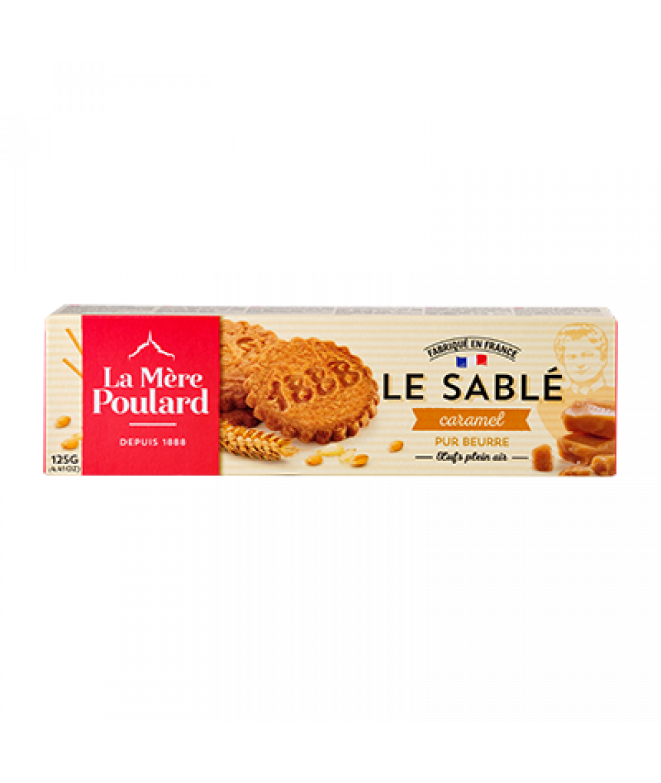 La Mere Poulard Sable Caramel - Caramel Butter BiC