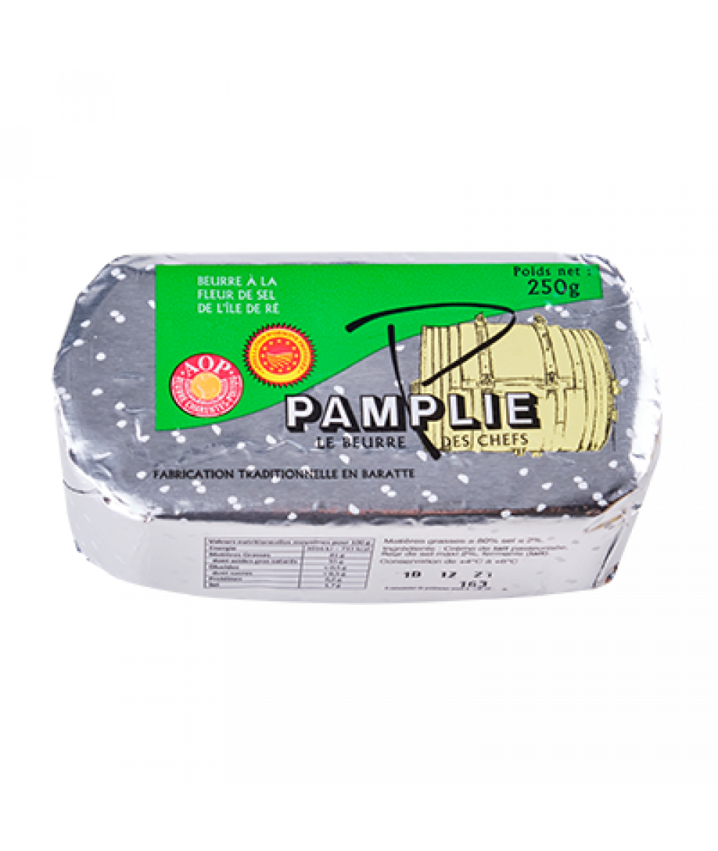 Pamplie SeaSalted Butter (PDO) 250g