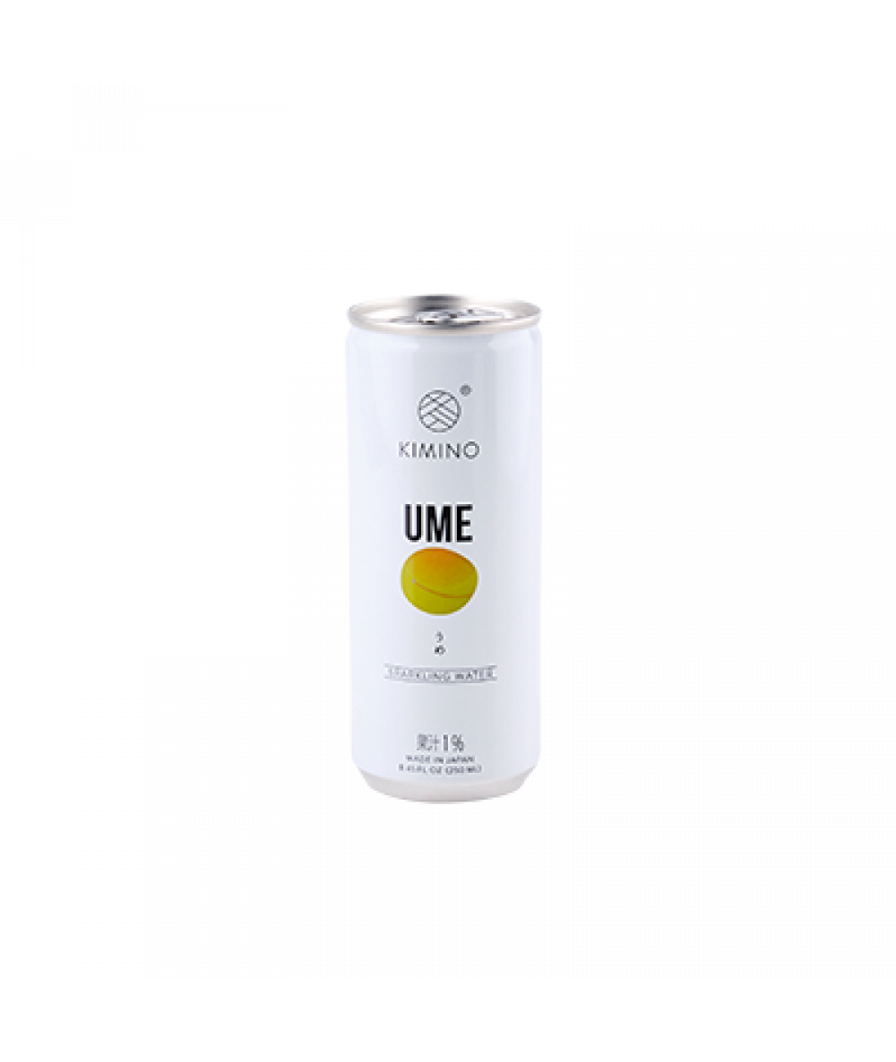 Kimino Can Sparkling Ume 250ml