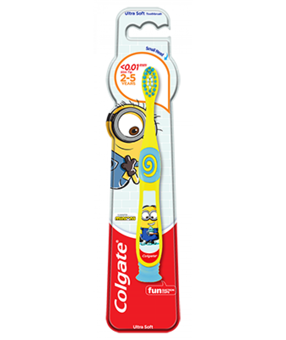 Colgate Toothbrush Smiles Minions 2-5years 1pc,