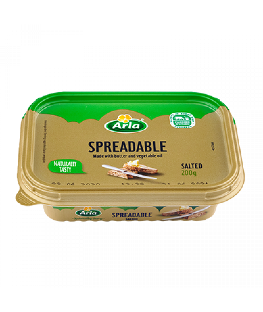 Arla Spreadable Butter Salted 200g