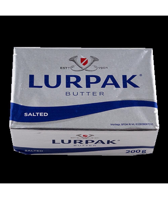 Lurpak Butter In Foil Salted 200g